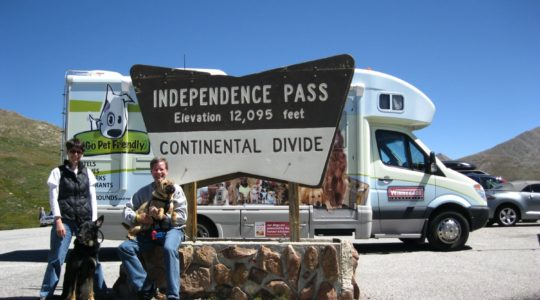Independence Pass on Continental Divide