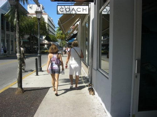 Shopping on Duval