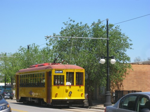 Streetcar in North Little Rock