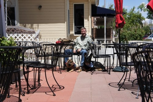 Pet Friendly Patio at Cuppers - Prescott, AZ
