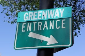 Greenway Entrance