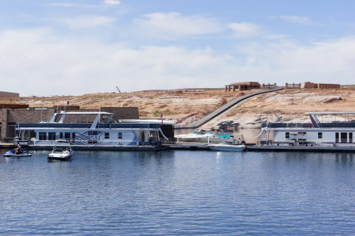 Houseboats at Antelope Marina