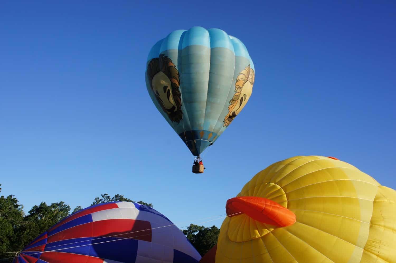 Happening Upon Hot Air Balloons