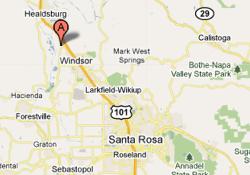 Rodney Strong Vineyard Map