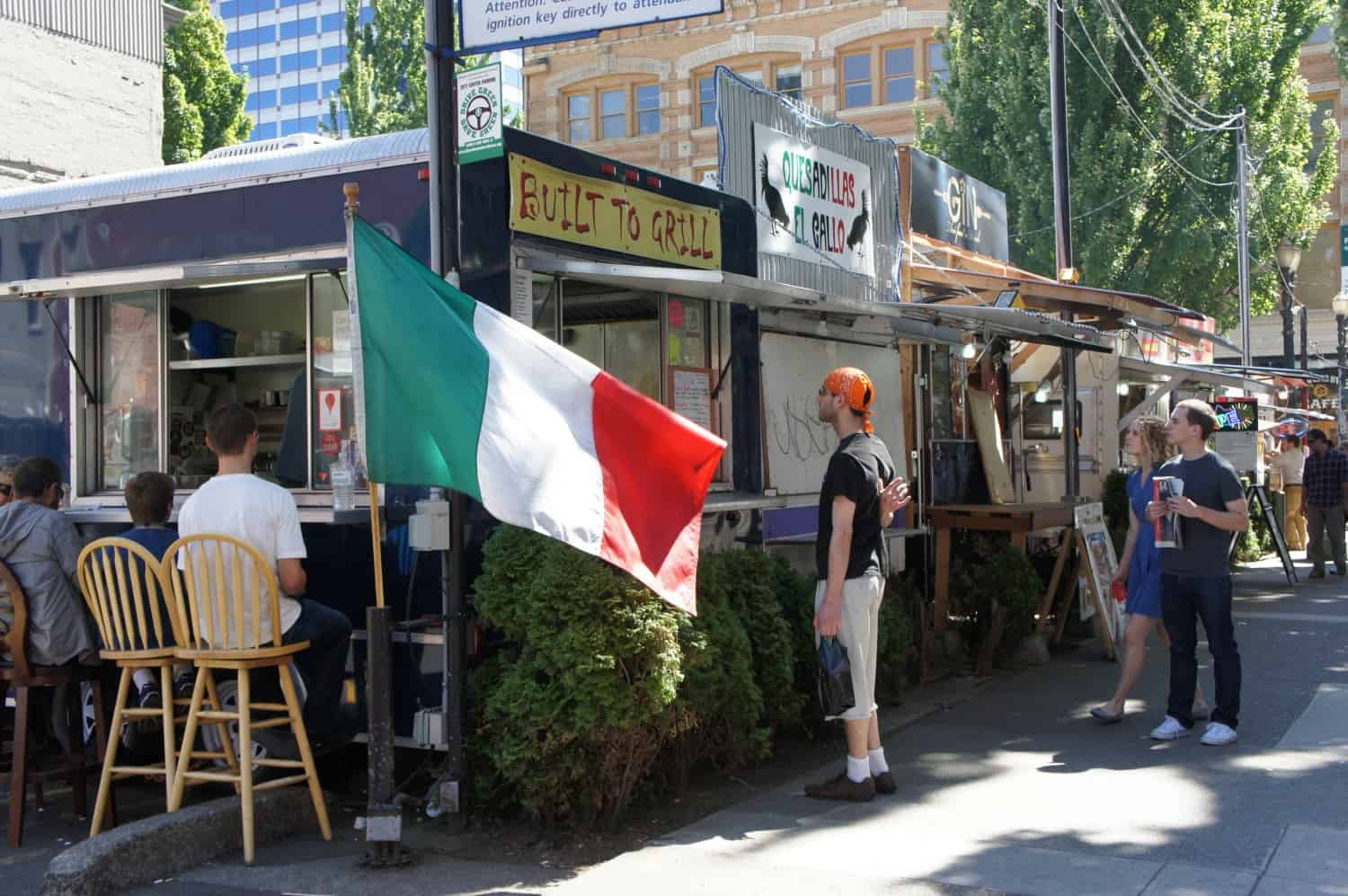 Food Trucks - Portland, Oregon