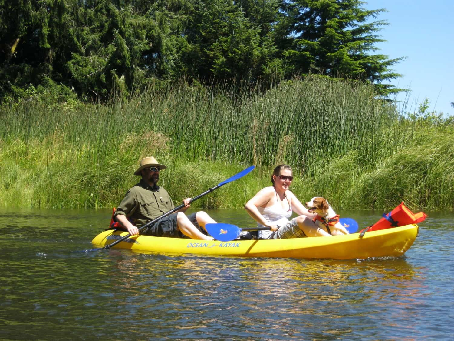 Kayaking on the Siuslaw River - Florence, OR