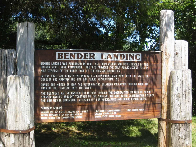 Bender Landing - Florence, Oregon