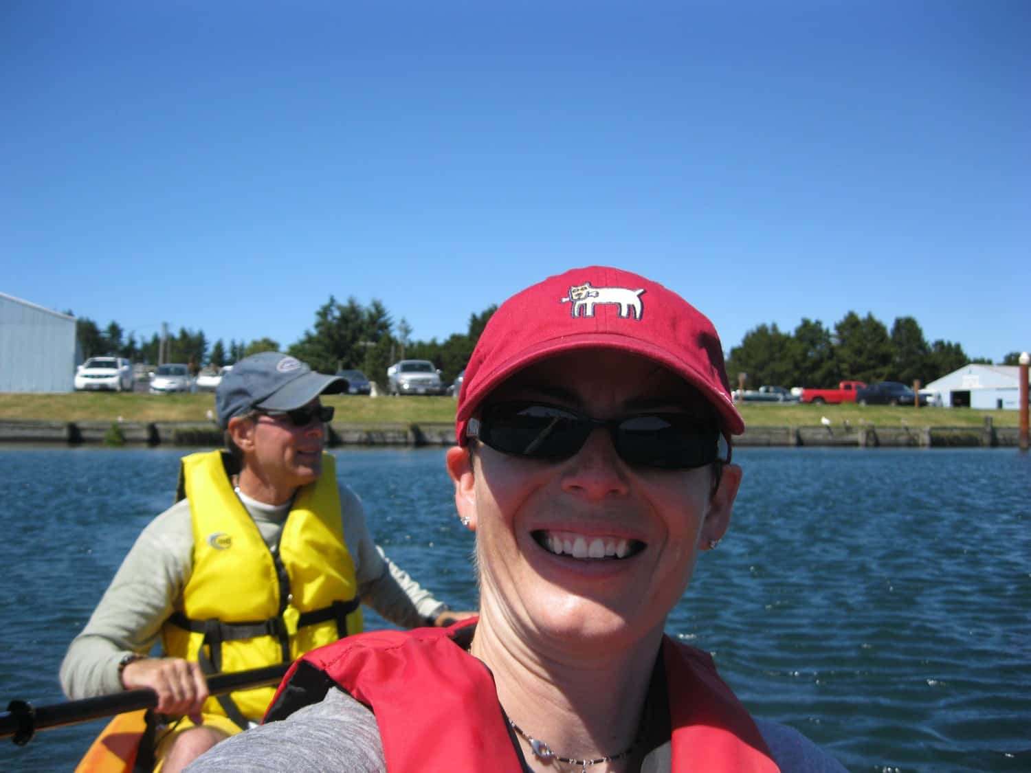 Amy and Rod Kayaking - Florence, OR