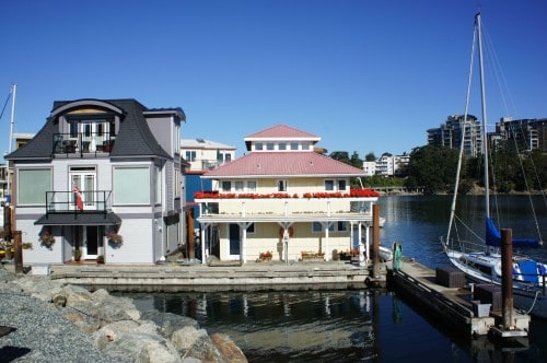 Floating Homes - Victoria, BC