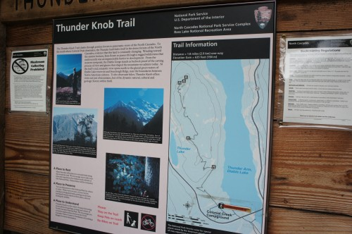 Thunder Knob Trail - Northern Cascades, WA