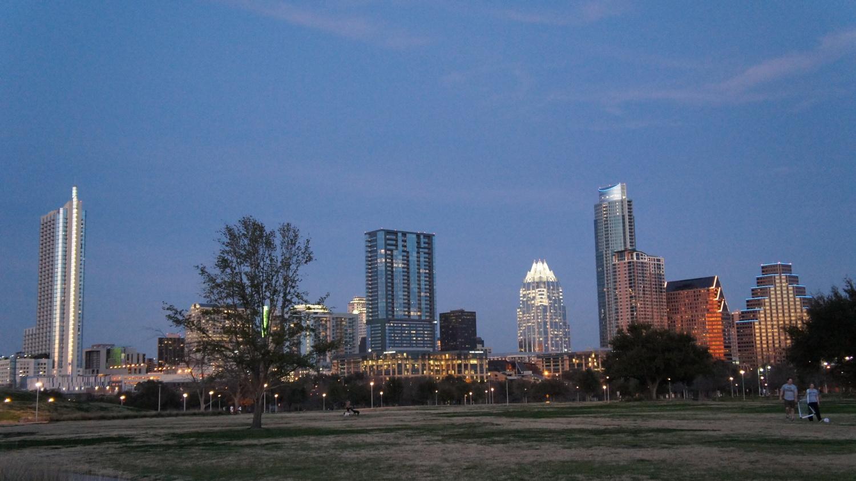 Austin, Texas skyline at dusk