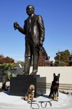 Buster and Ty with Louis Armstrong