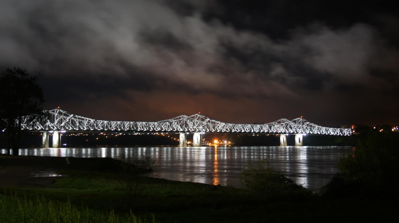 Bridge over Mississippi - Natchez, MS