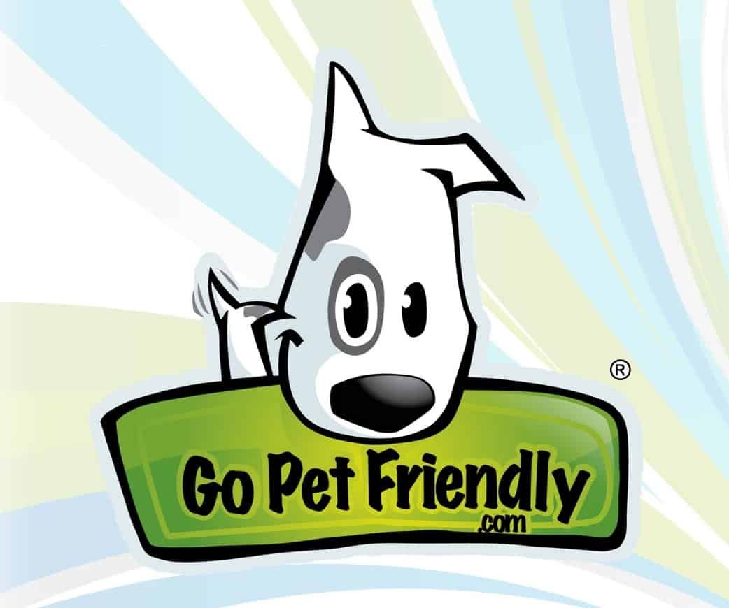 GoPetFriendly.com Logo on Swirl