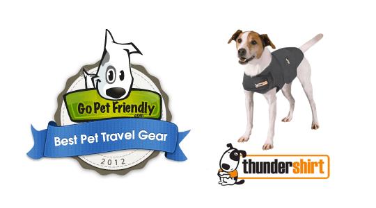 Best Pet Travel Gear - Thundershirt