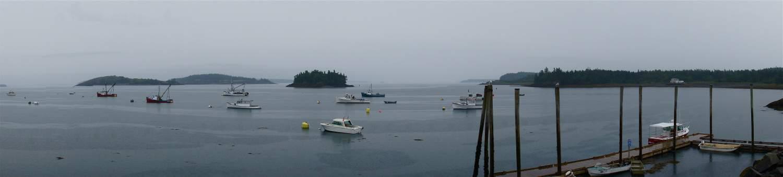 Harbor in Lubec, ME