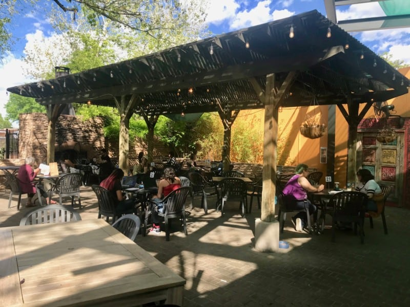 Dog Friendly Flying Star Cafe in Albuquerque, NM