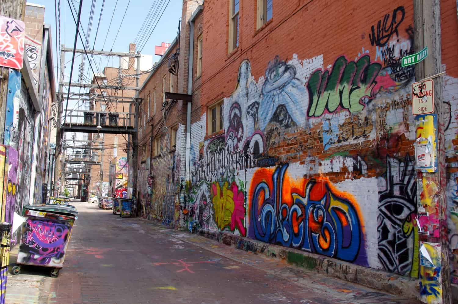 Graffiti Alley - Rapid City, SD