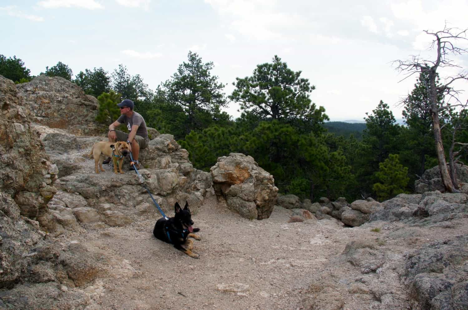 The Boys at Lover's Leap - Custer, SD