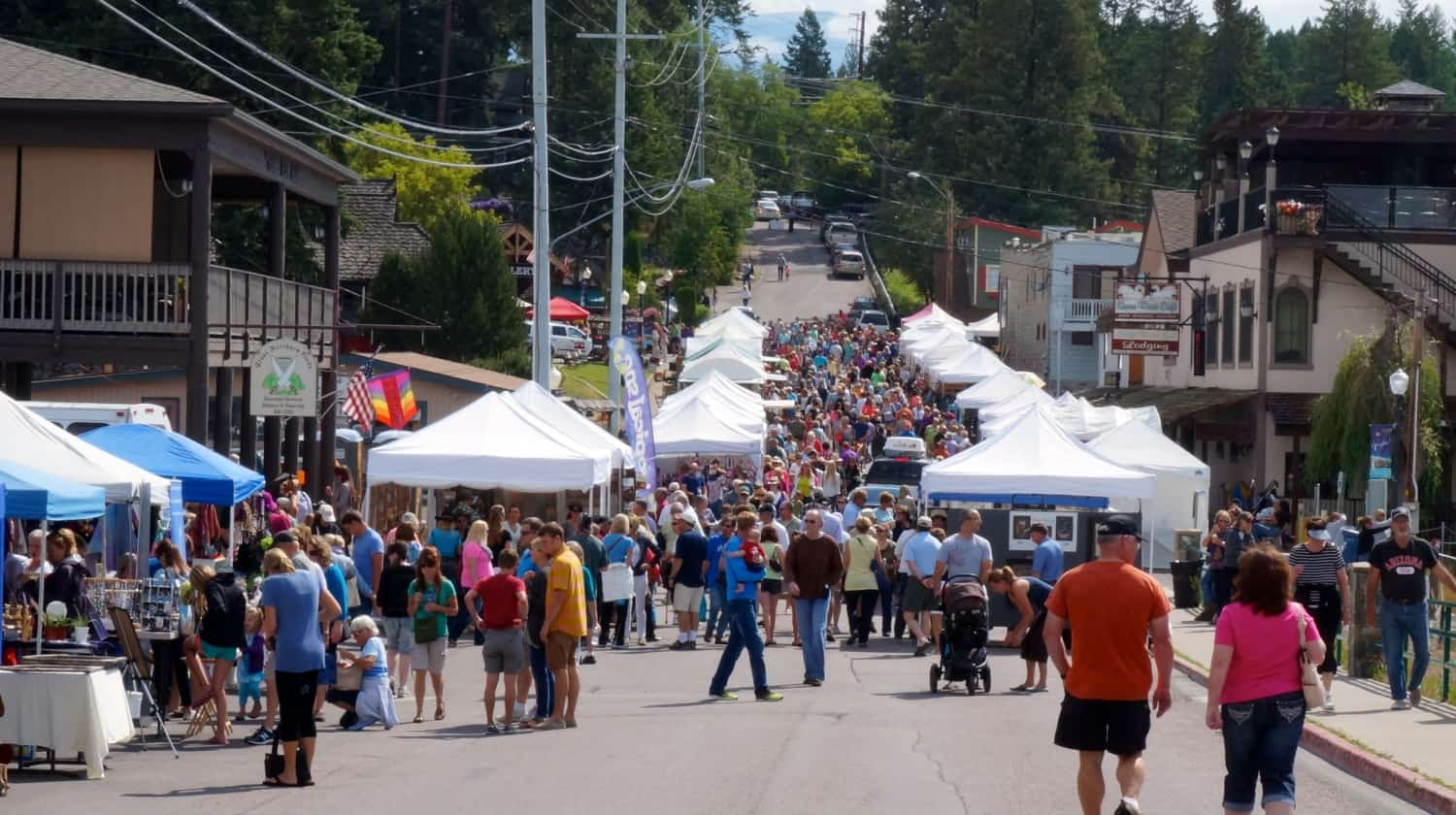 Art Festival in Bigfork, MT