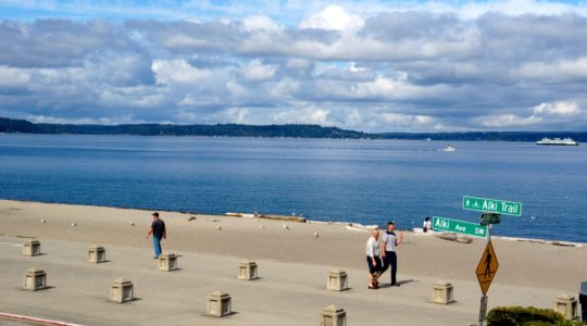 Alki Beach - West Seattle, WA