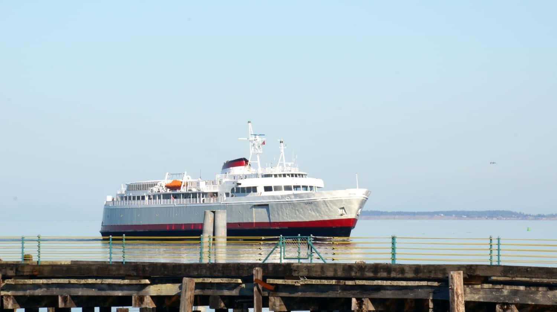 Ferry Loading - Port Angeles, WA