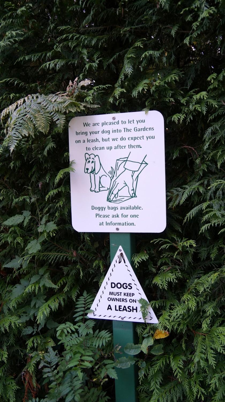 Dog Friendly Butchart Gardens - Victoria, BC