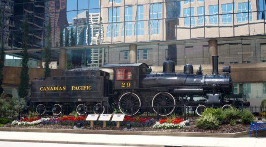 Canadian Pacific Railway Locomotive - Calgary, AB