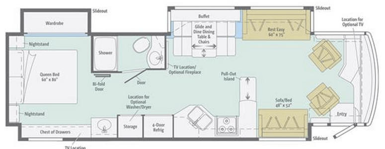 Meridian Floor Plan