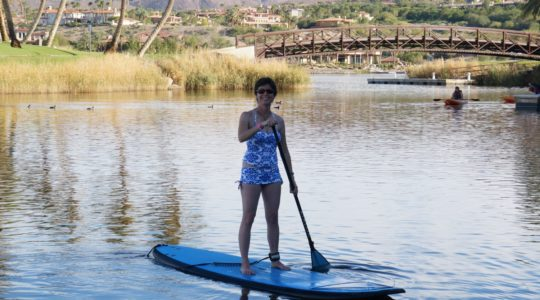 SUPing at Westin Lake Las Vegas - Las Vegas, NV
