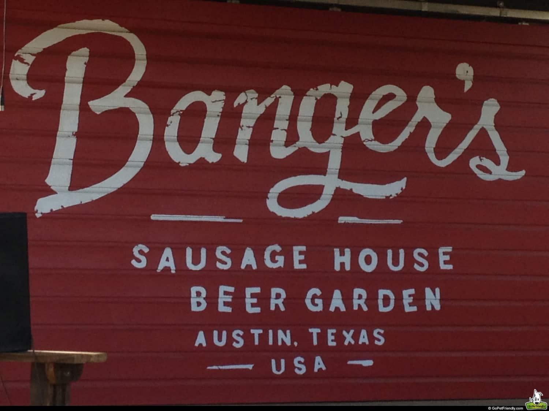 Banger's Beer Garden - Austin, TX