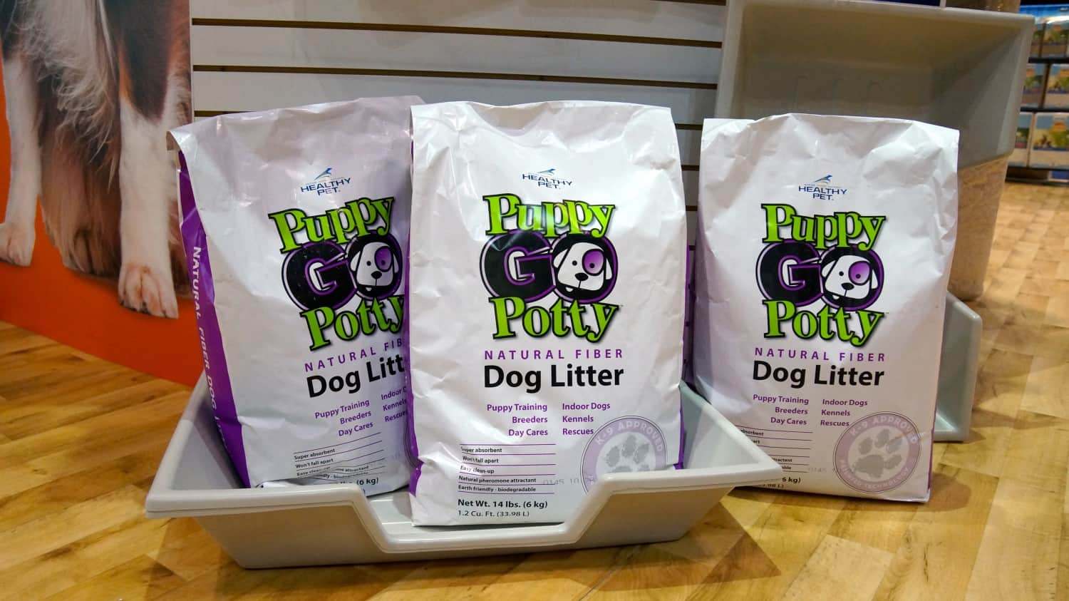 Puppy Go Potty at Global Pet Expo 2015 - Orlando, FL