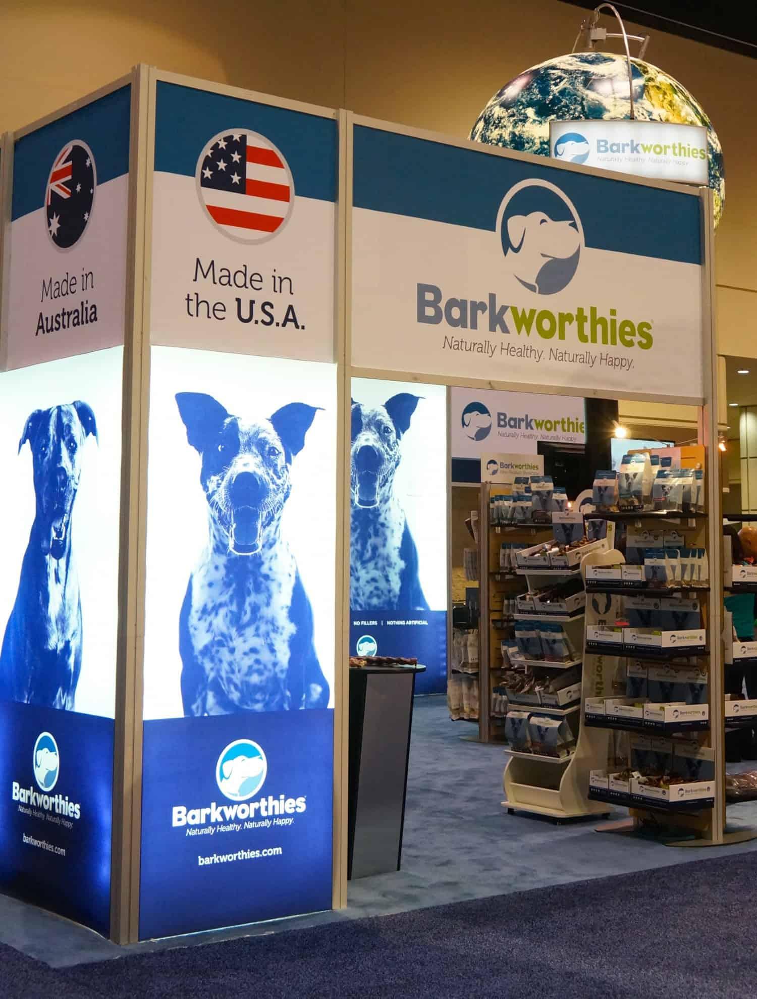 Barkworthies at Global Pet Expo 2015 - Orlando, FL