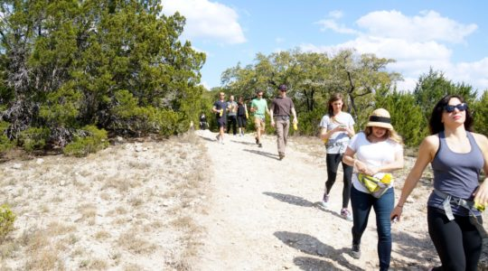 Yahoo! Travel SXSW Hike - Austin, TX