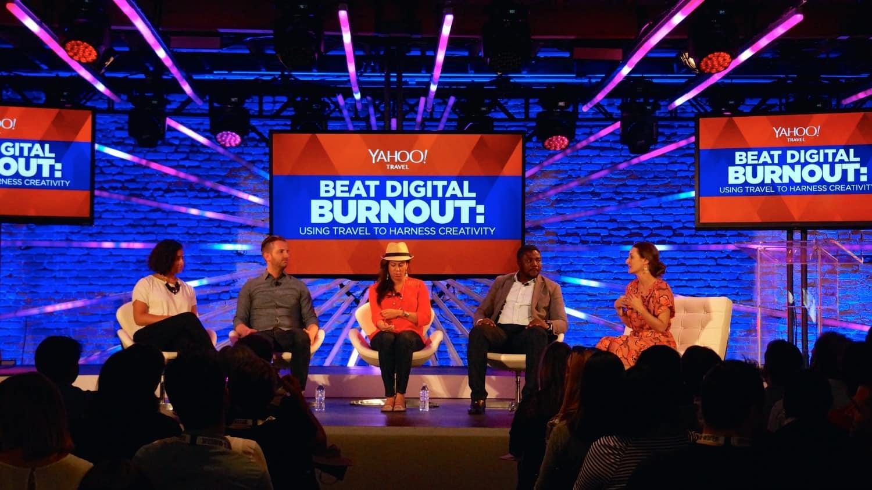 SXSW - Yahoo! Travel's Beat Digital Burnout Panel Discussion