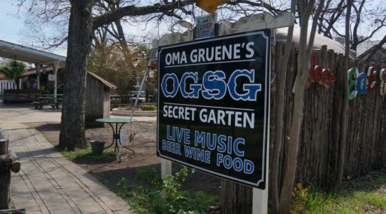 Oma Gruene's OGSG Secret Garden - Gruene, TX