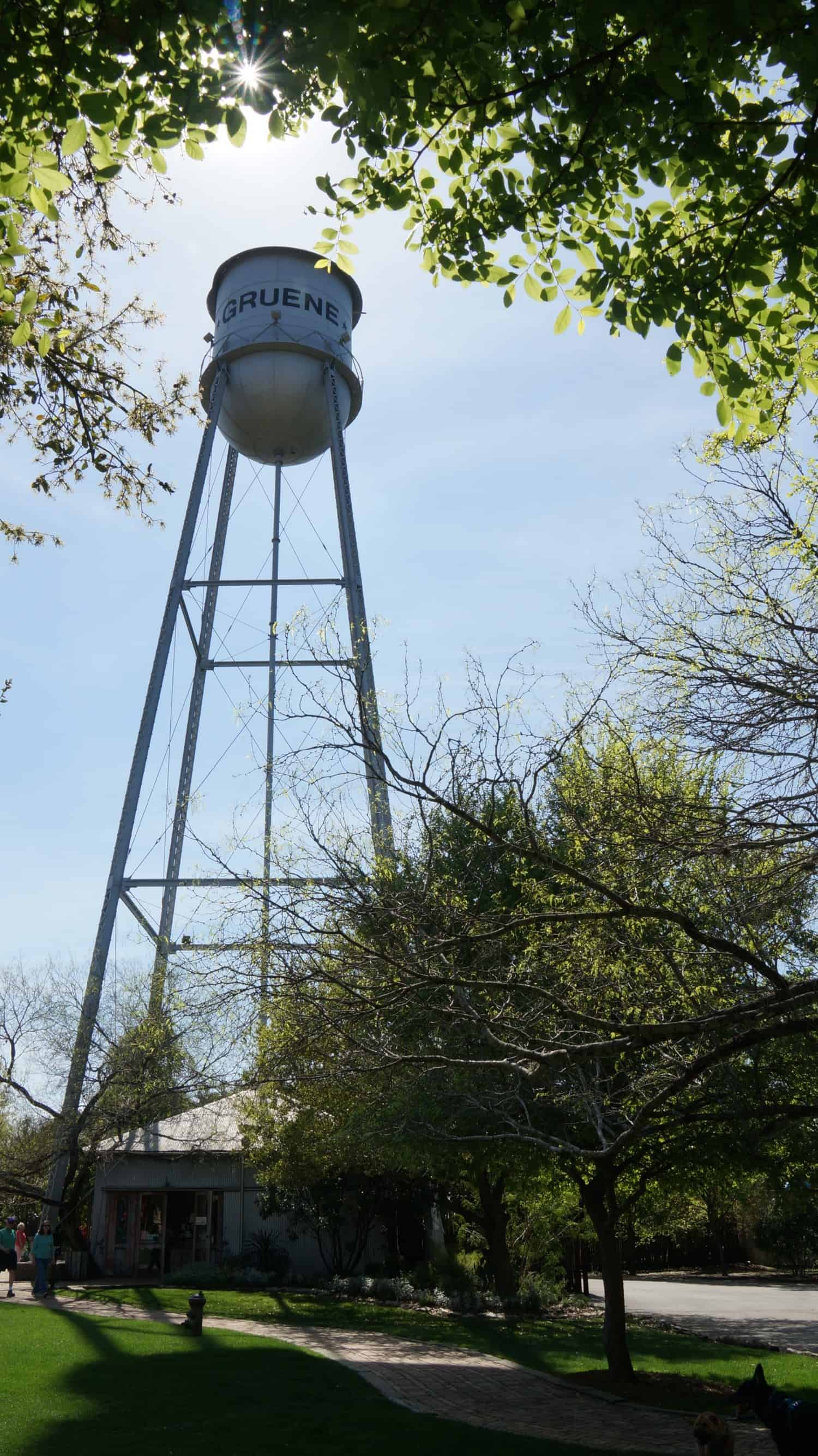 Gruene Water Tower - Gruene, TX