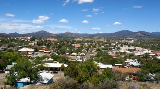 Seeing the Dog Friendly Sites in Silver City, New Mexico