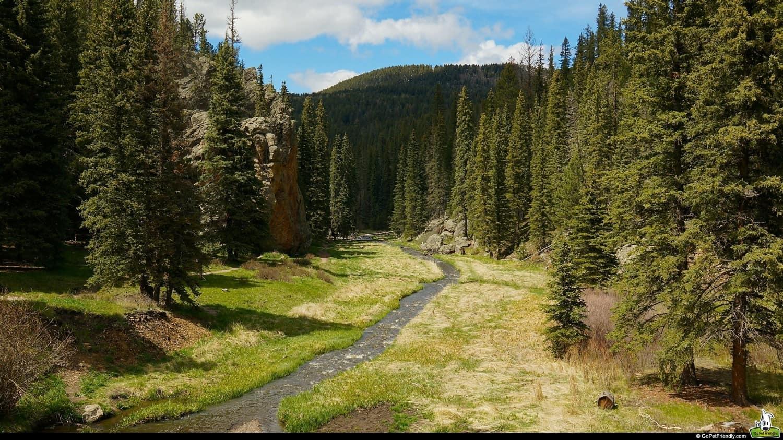 Las Conchas Trail - Santa Fe, NM