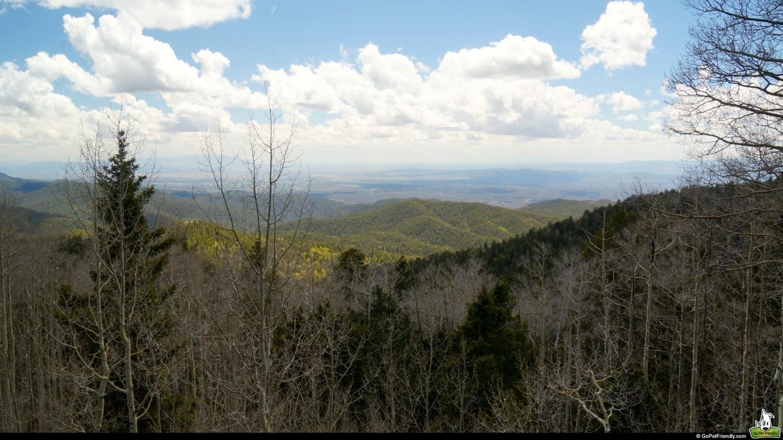 View of Santa Fe National Forest - Santa Fe, NM