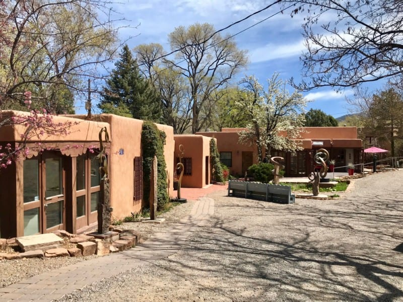 Galleries on Canyon Road in Santa Fe, NM