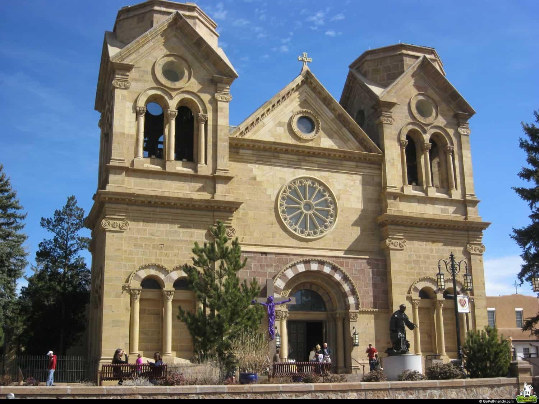Cathedral Basilica of St. Francis of Assisi - Santa Fe, NM