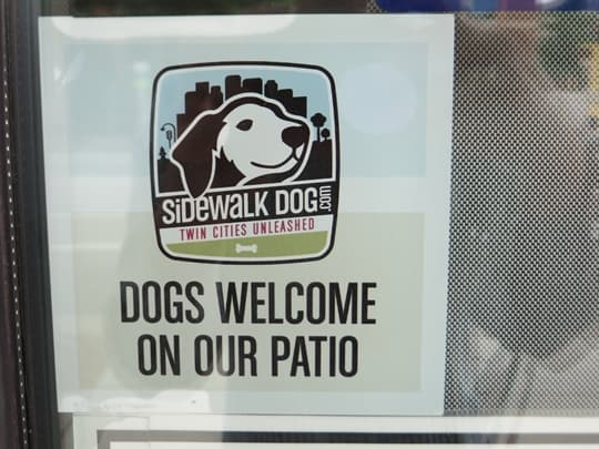 Dogs Welcome in Minneapolis, MN