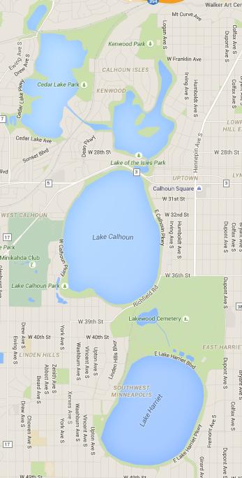 Chain of Lakes - Minneapolis, MN
