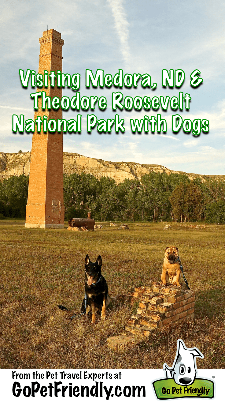 Visiting Medora, North Dakota & Theodore Roosevelt National Park with Dogs - From the Pet Travel Experts at GoPetFriendly.com