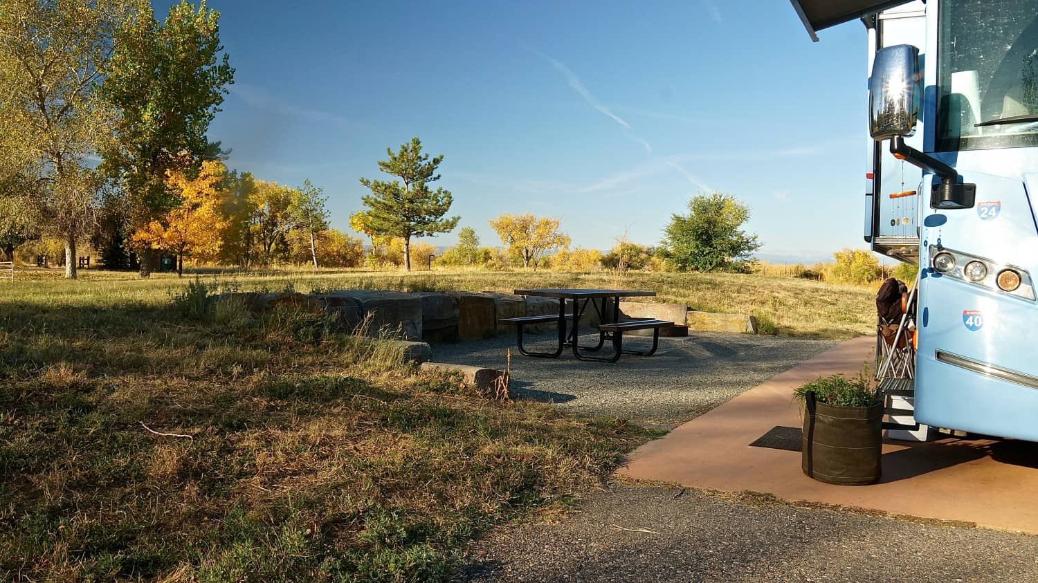 Camping at Cherry Creek State Park - Aurora, CO