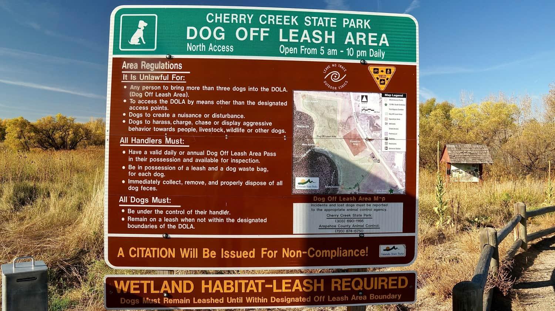 Cherry Creek State Park Off-leash Dog Area - Aurora, CO