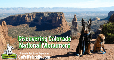 Discovering Colorado National Monument from the Pet Travel Experts at GoPetFriendly.com