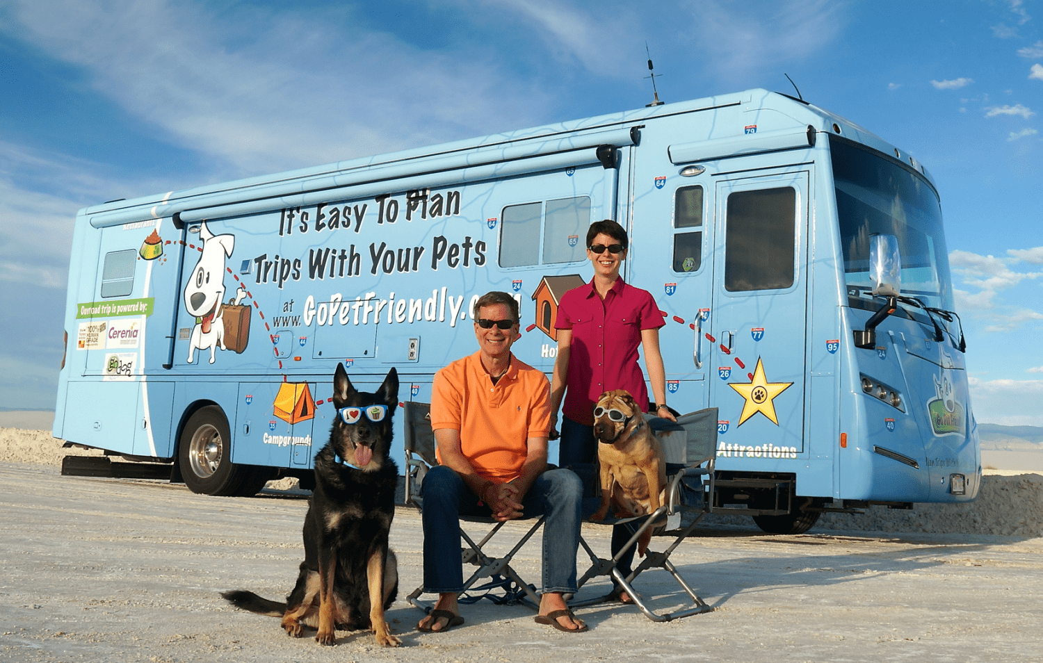GoPetFriendly.com Team with RV