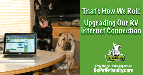 That's How We Roll: Upgrading Our RV Internet Connection